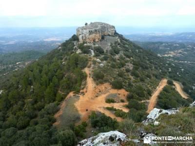 Monumento Natural Tetas de Viana - Trillo; excursiones y senderismo; viajes culturales